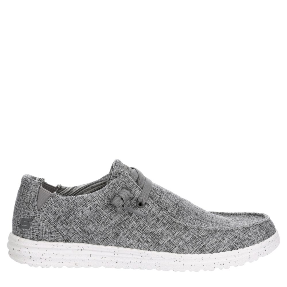 Skechers Street Mens Melson-Chad Canvas Shoes