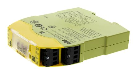 Pilz PNOZ s5 48 → 240 V ac/dc Safety Relay Dual Channel With 2 Safety Contacts  - PNOZsigma Range