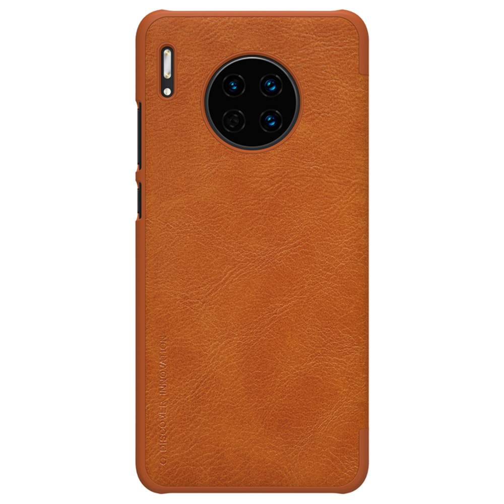 NILLKIN Protective Leather Phone Case For HUAWEI Mate 30 Smartphone - Brown