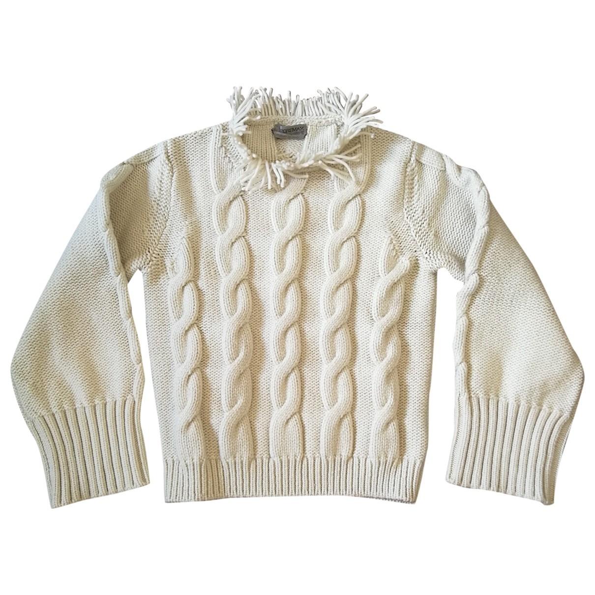 Sport Max \N Ecru Wool Knitwear for Women S International