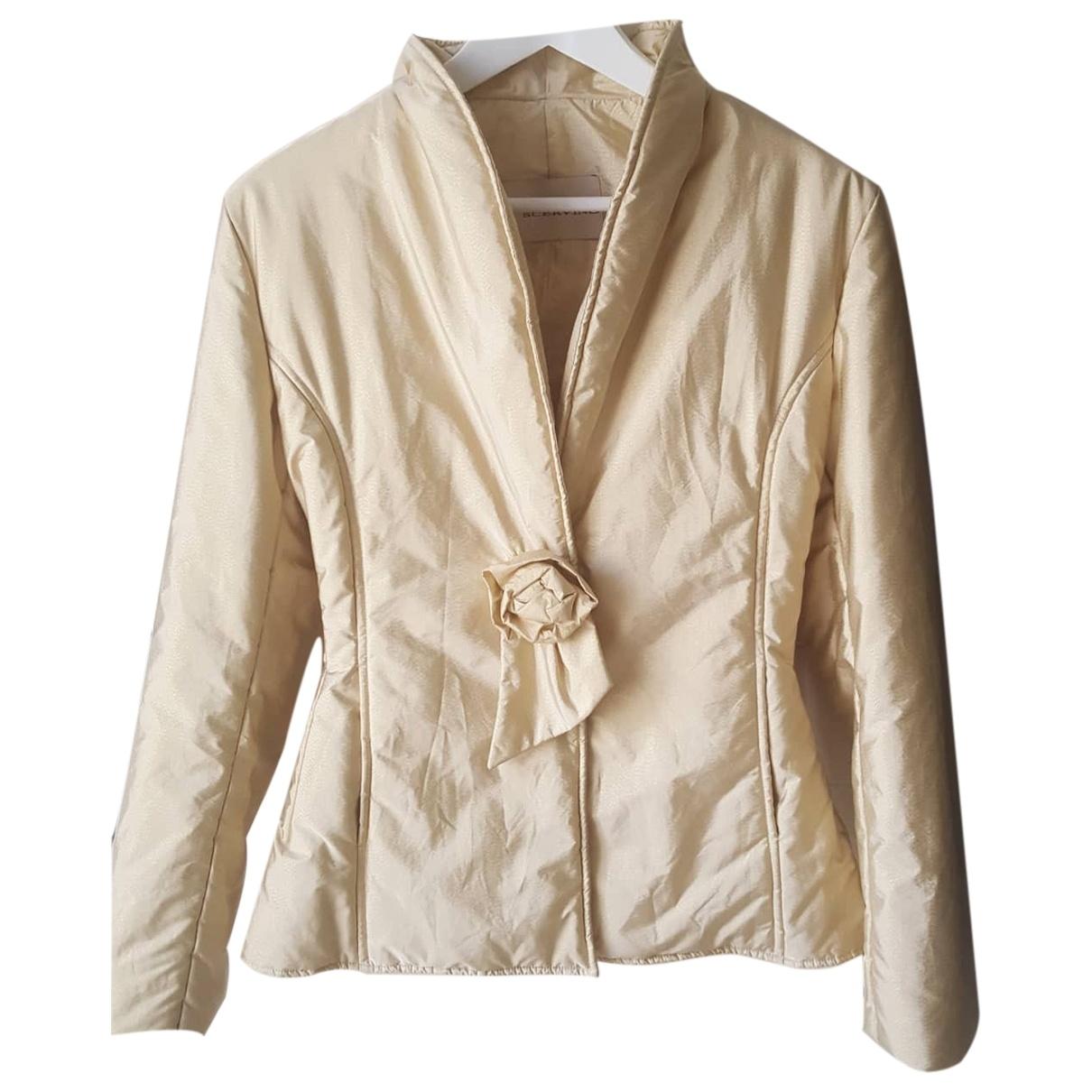 Ermanno Scervino \N Beige coat for Women 42 IT