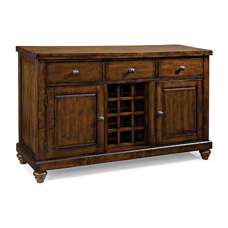 Kingston Dining Server, One Size , Brown