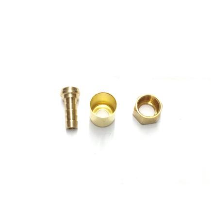 Weatherhead 33806P-Y76 - Brass Hose Ends Air Brak