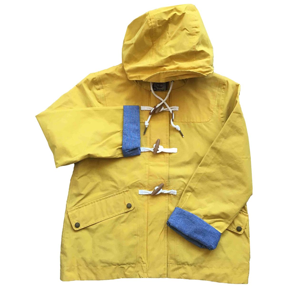 Timberland \N Yellow Cotton jacket for Women M International