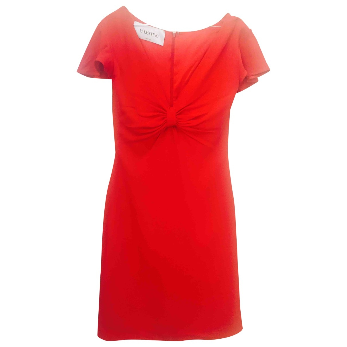 Valentino Garavani \N Red dress for Women 44 IT