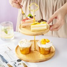 Double Layer Snack Tray