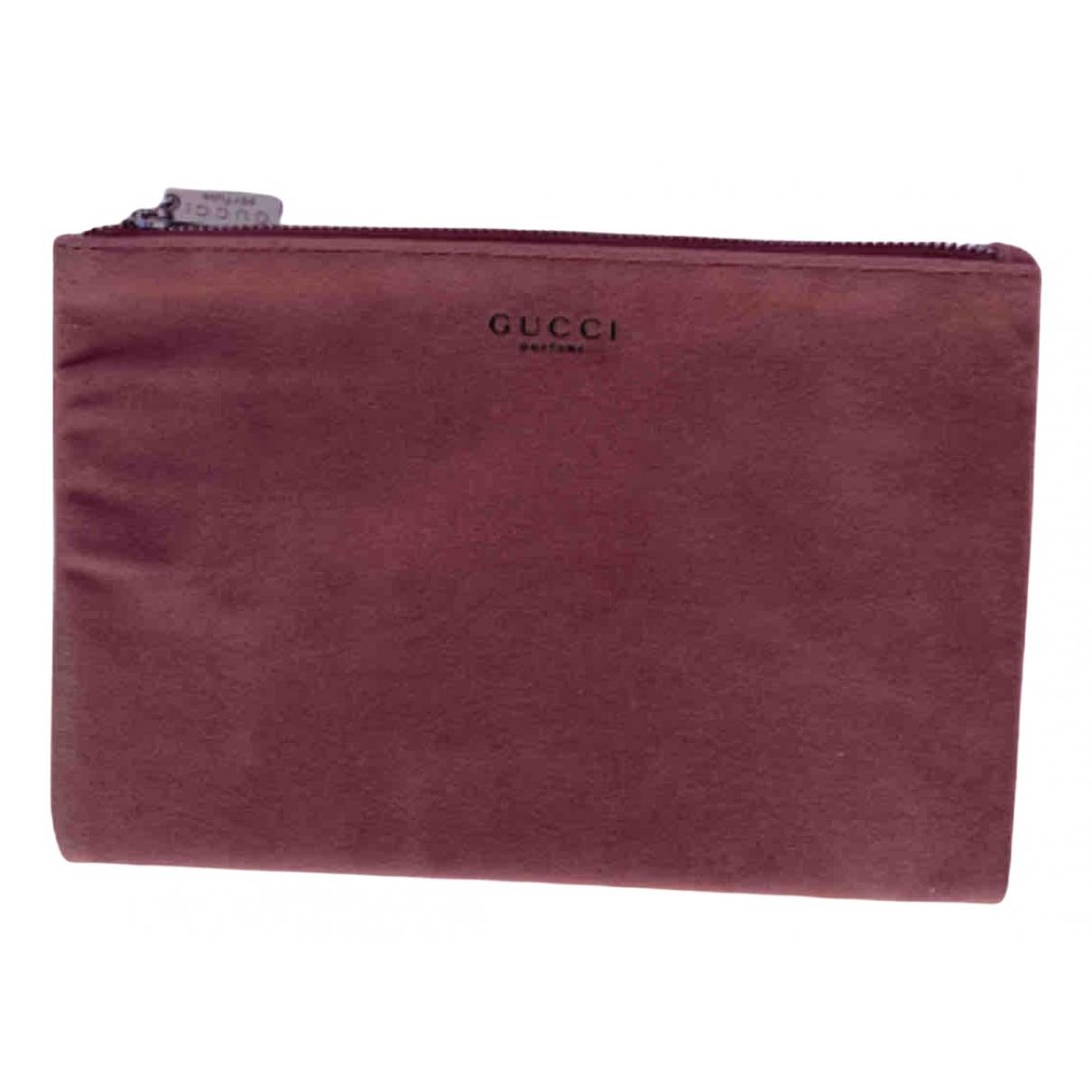 Gucci \N Pink Velvet Travel bag for Women \N