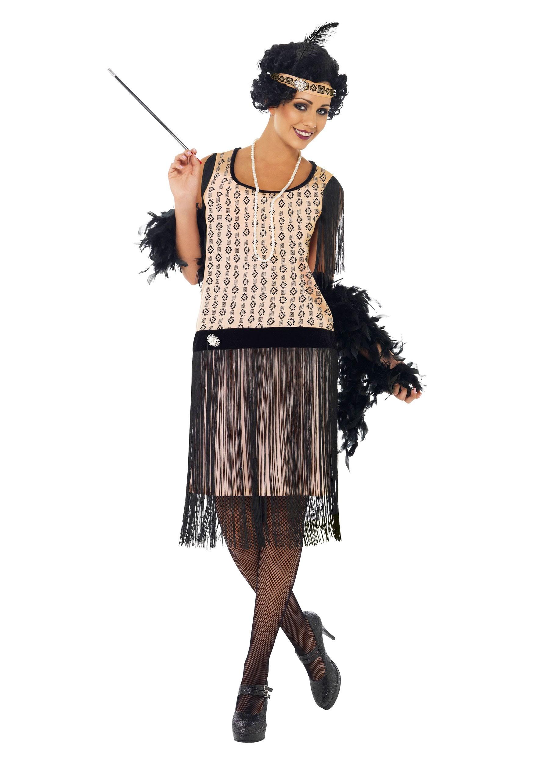 Women's 1920s Coco Flapper Costume