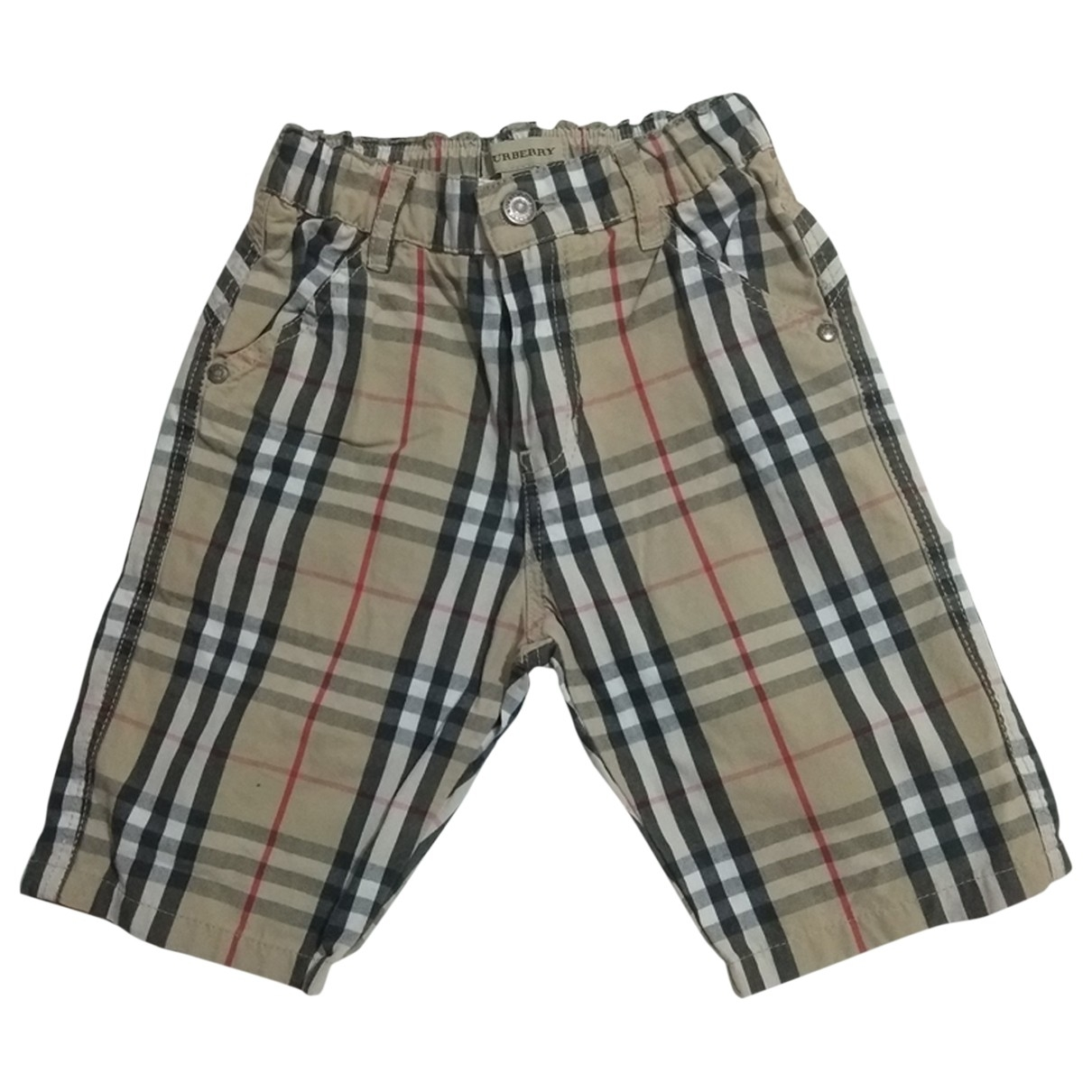 Burberry \N Beige Cotton Shorts for Kids 18 months - up to 81cm FR