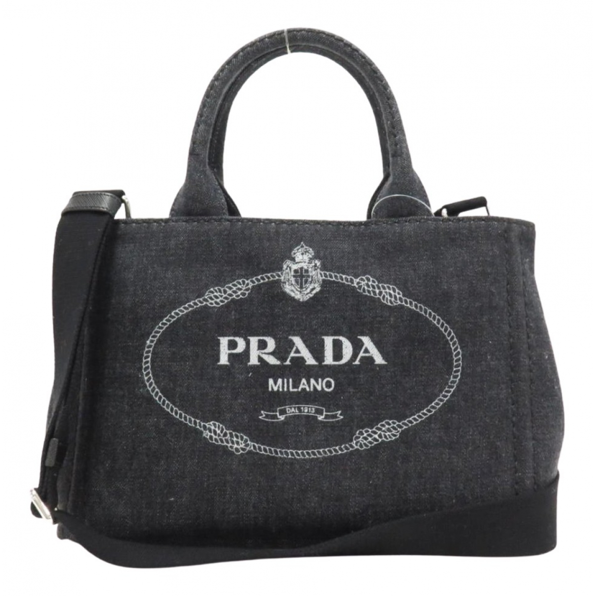 Prada N Black Denim - Jeans handbag for Women N