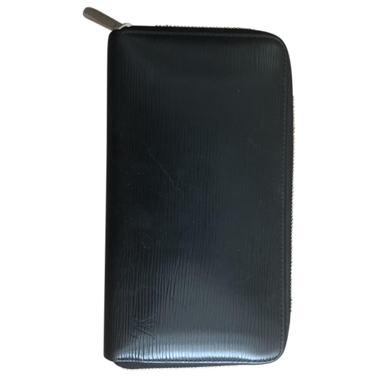 Louis Vuitton \N Black Leather Small bag, wallet & cases for Men \N