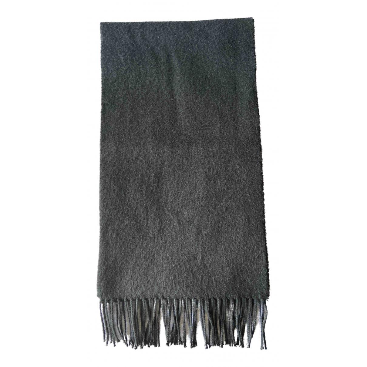 Johnstons Of Elgin \N Black Cashmere scarf & pocket squares for Men \N