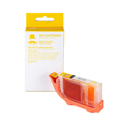Canon CLI-8Y 0623B002 cartouche d'encre compatible jaune