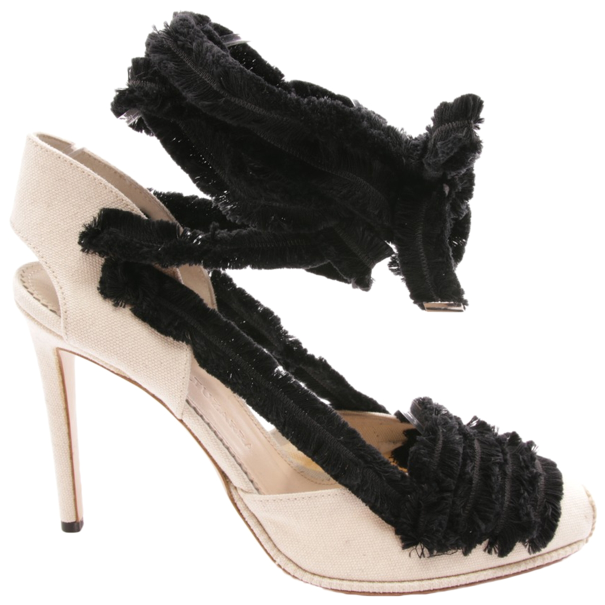 Altuzarra \N Beige Leather Sandals for Women 41 EU