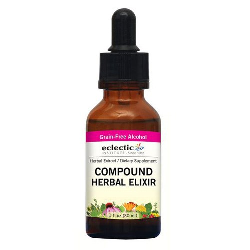 Compound Herbal Elixir 1 Oz with Alcohol by Eclectic Institute Inc