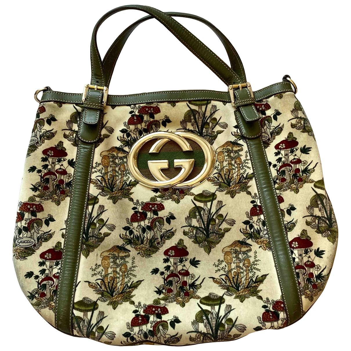Gucci \N Green Velvet handbag for Women \N