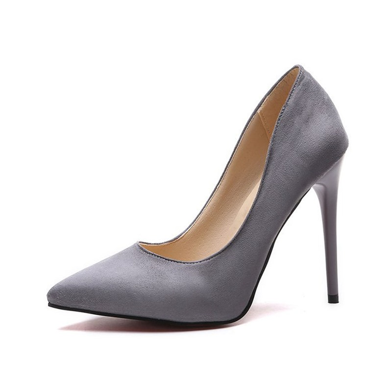 Ericdress Pointed Toe Slip-On Thread Western Thin Shoes