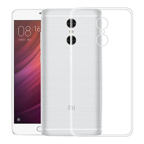 Soft Case Back Cover Ultra-thin Protective Phone Shell Screen Protector For Redmi Note 4X - Transparent