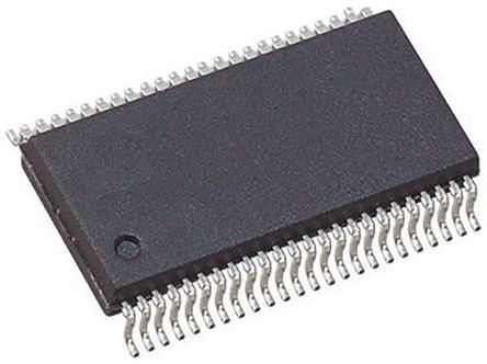 Toshiba TC74VCX163245FT, Dual Bus Transceiver, Bus Transceiver, 16-Bit Non-Inverting CMOS, 48-Pin TSSOP (5)