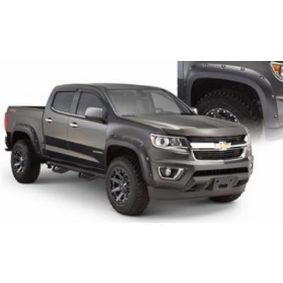 Bushwacker Chevrolet Colorado Pocket Style Rear Flares (Paintable) - 40140-02