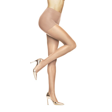 Hanes Absolutely Ultra-Sheer Control-Top Pantyhose, B , Brown