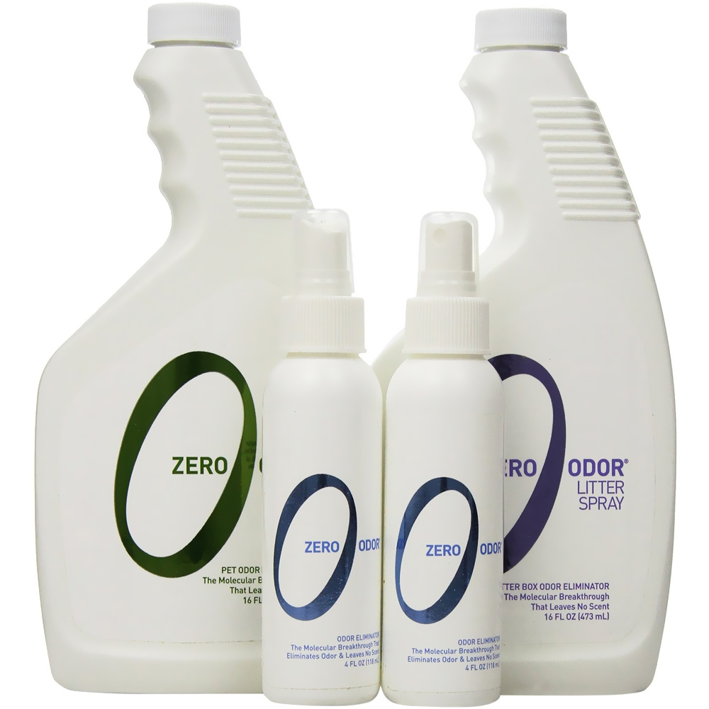 Zero Odor Cat Lover Kit