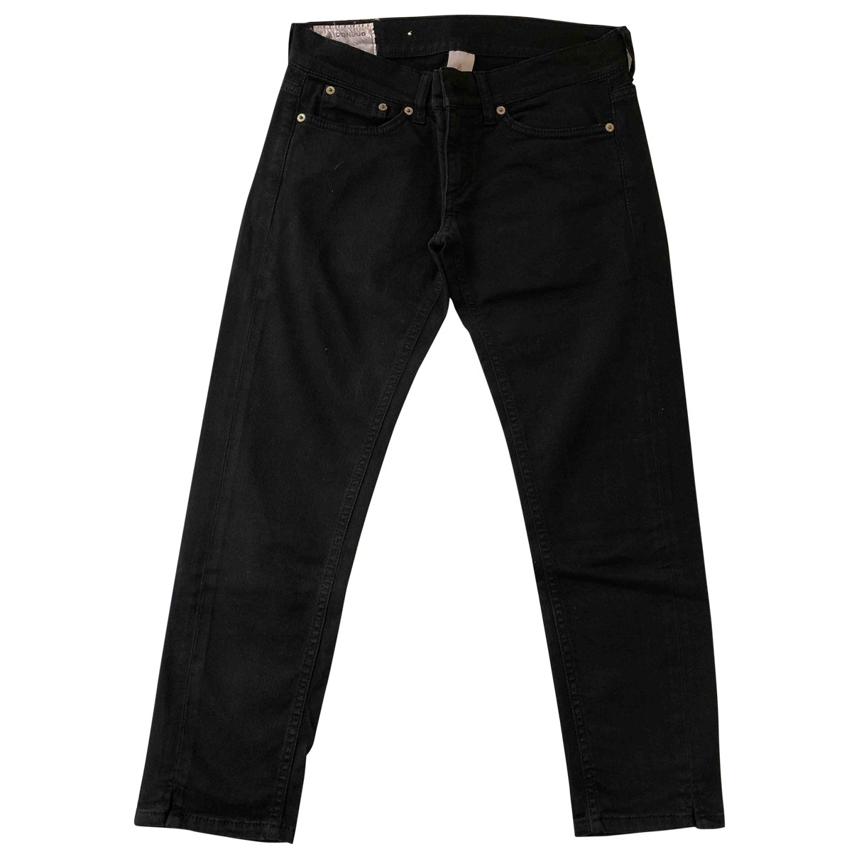 Dondup \N Black Cotton - elasthane Jeans for Women 27 US