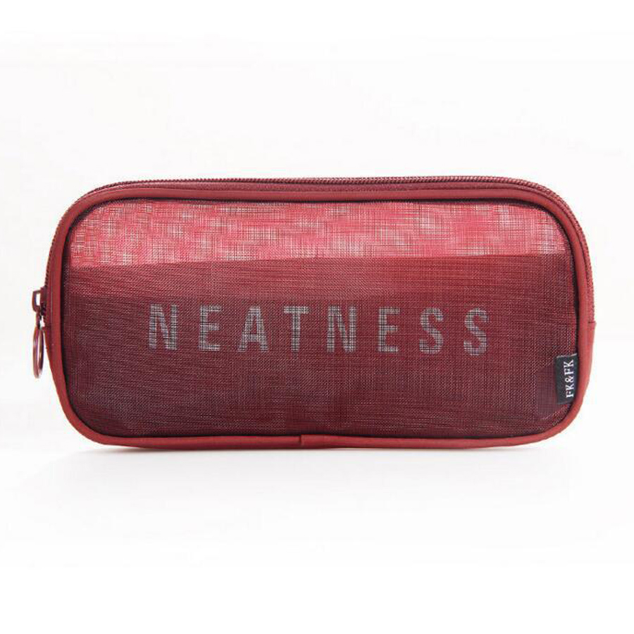 Portable Simple Style Transparent Gauze Multifunction Storage Bag
