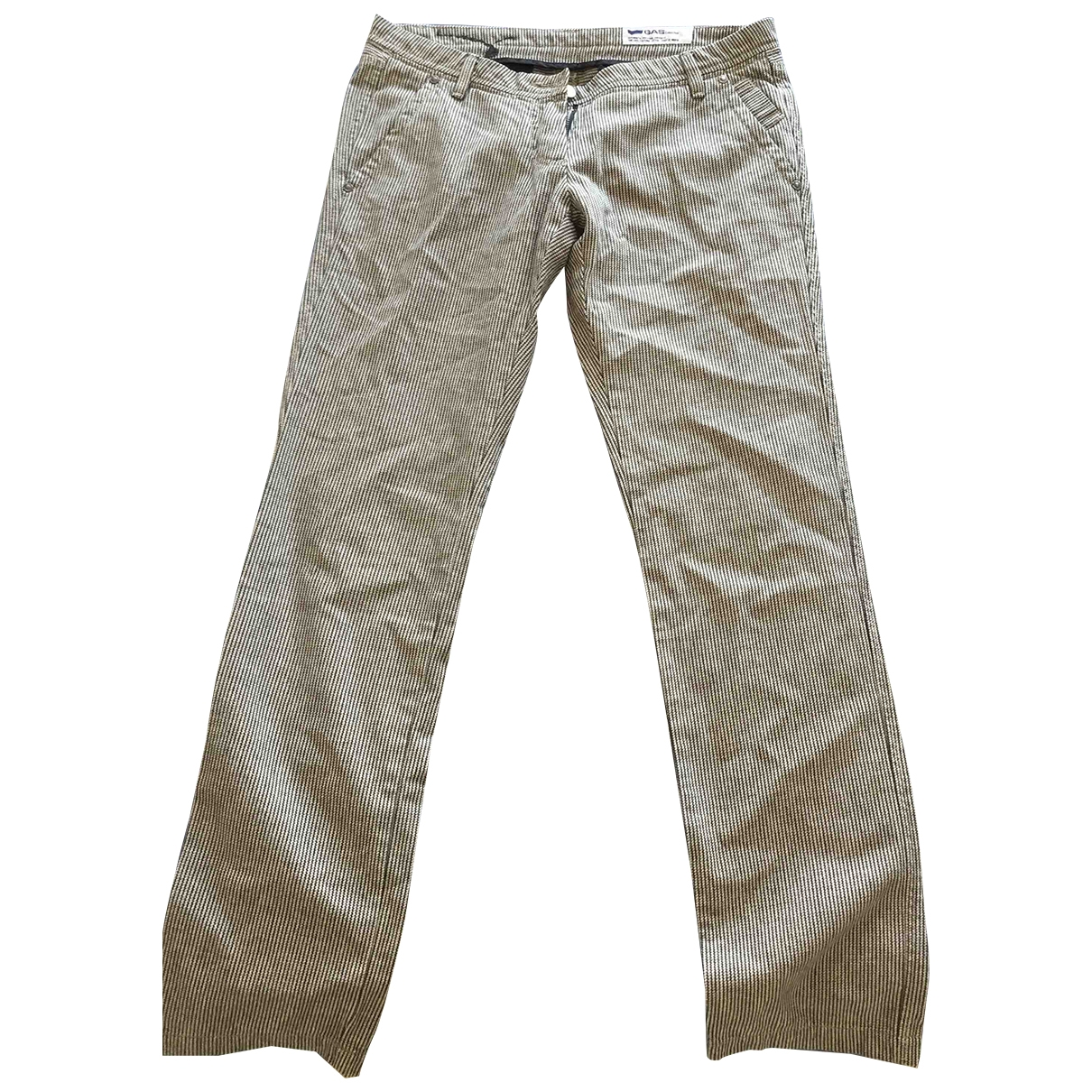 Gas \N Cotton Trousers for Women M International