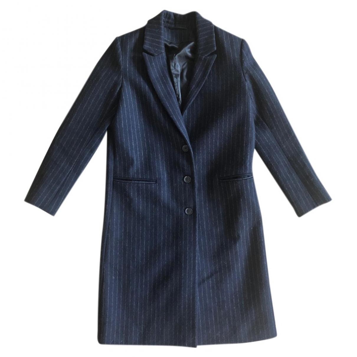 & Stories \N Navy Wool coat for Women 34 FR