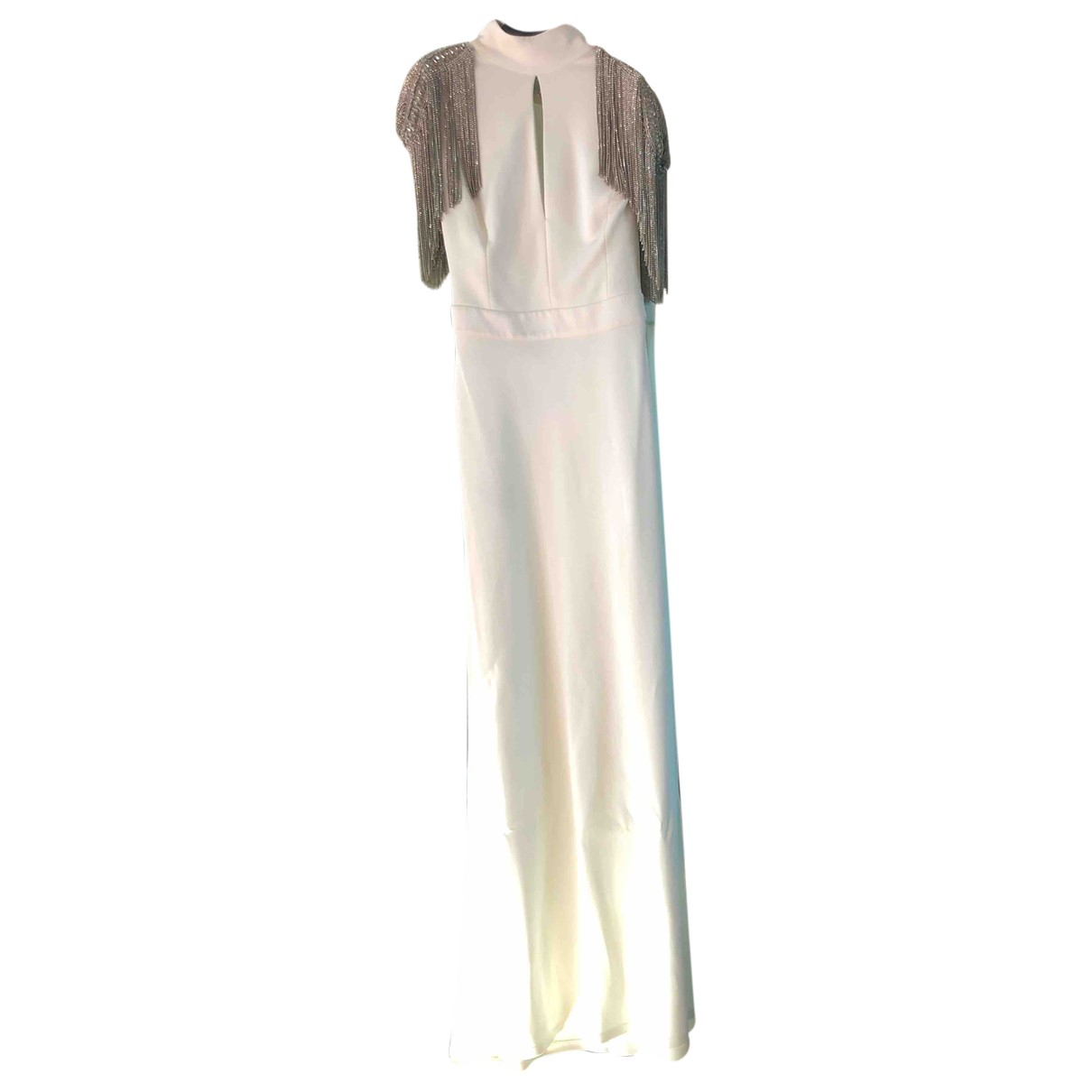 Elisabetta Franchi \N White dress for Women 44 IT