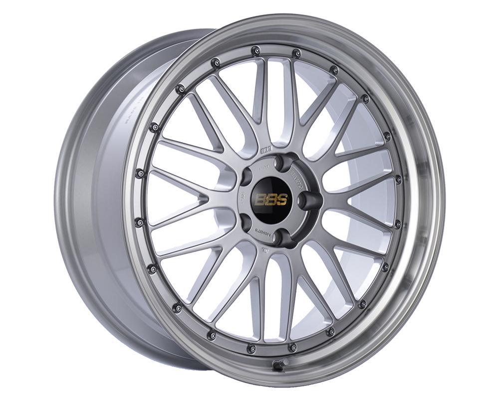 BBS LM Wheel 20x10.5 5x114.3 20mm Diamond Silver | Diamond Cut Rim