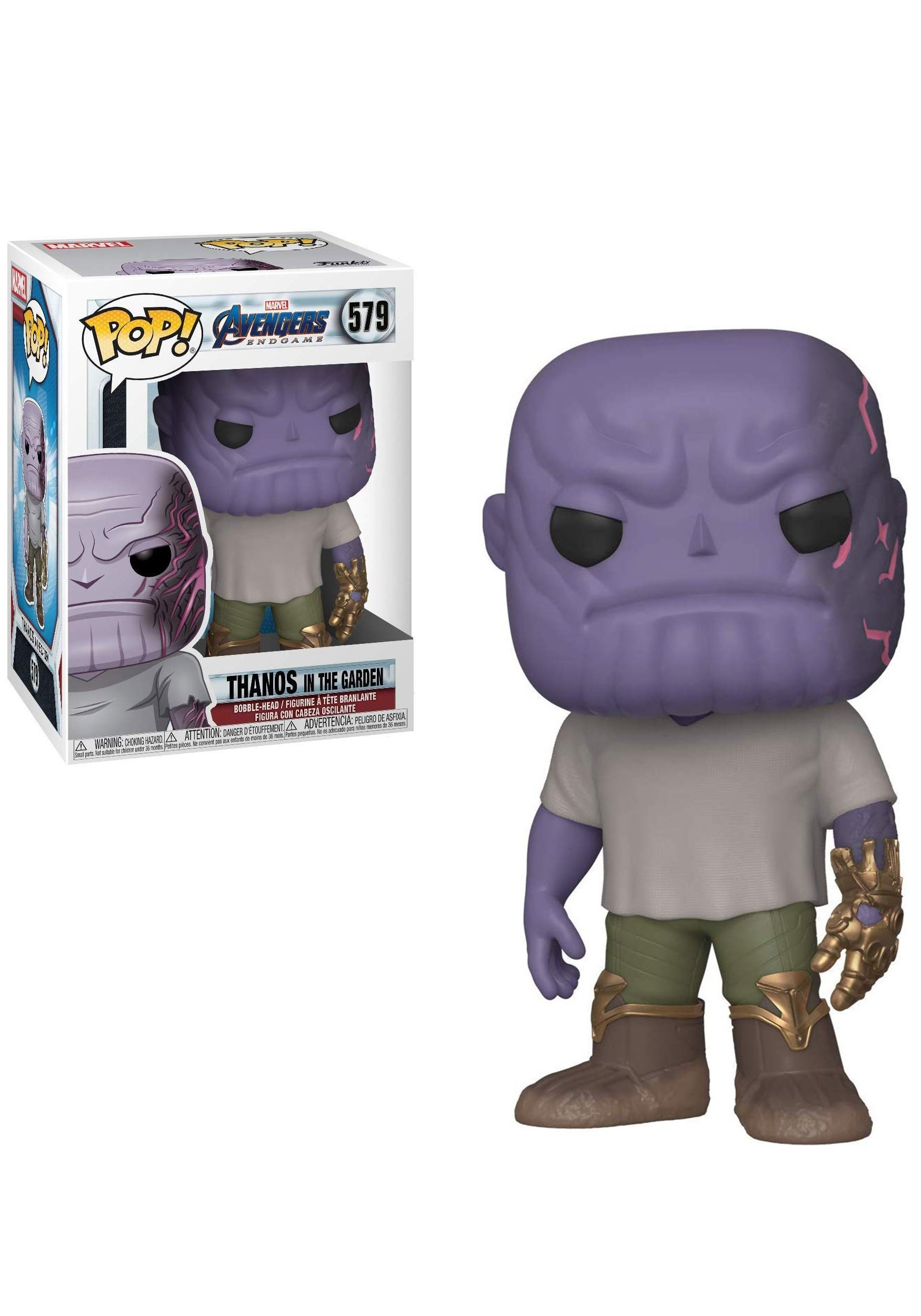 Marvel: Endgame - Funko Pop! Casual Thanos with Gauntlet