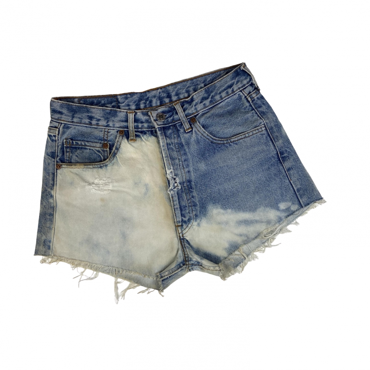 Levi's Vintage Clothing \N White Denim - Jeans Shorts for Women S International