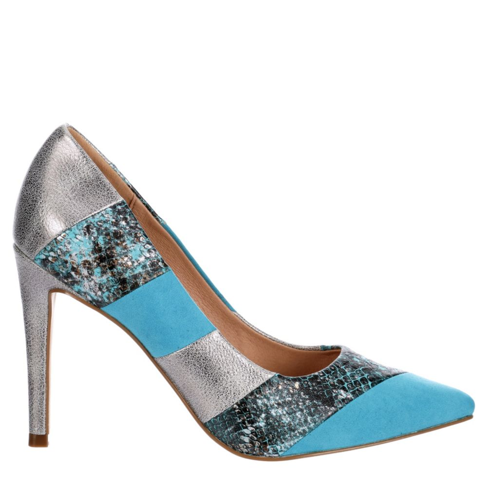 Michael By Shannon Womens Racer Pointed Toe Pump