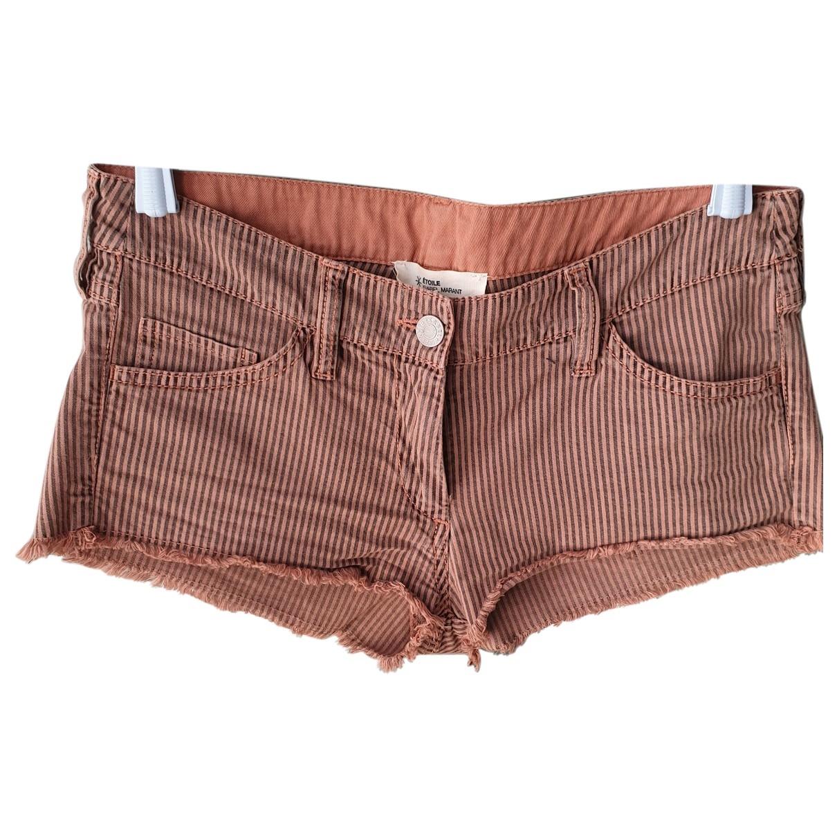 Isabel Marant Etoile \N Pink Cotton - elasthane Shorts for Women 1 US