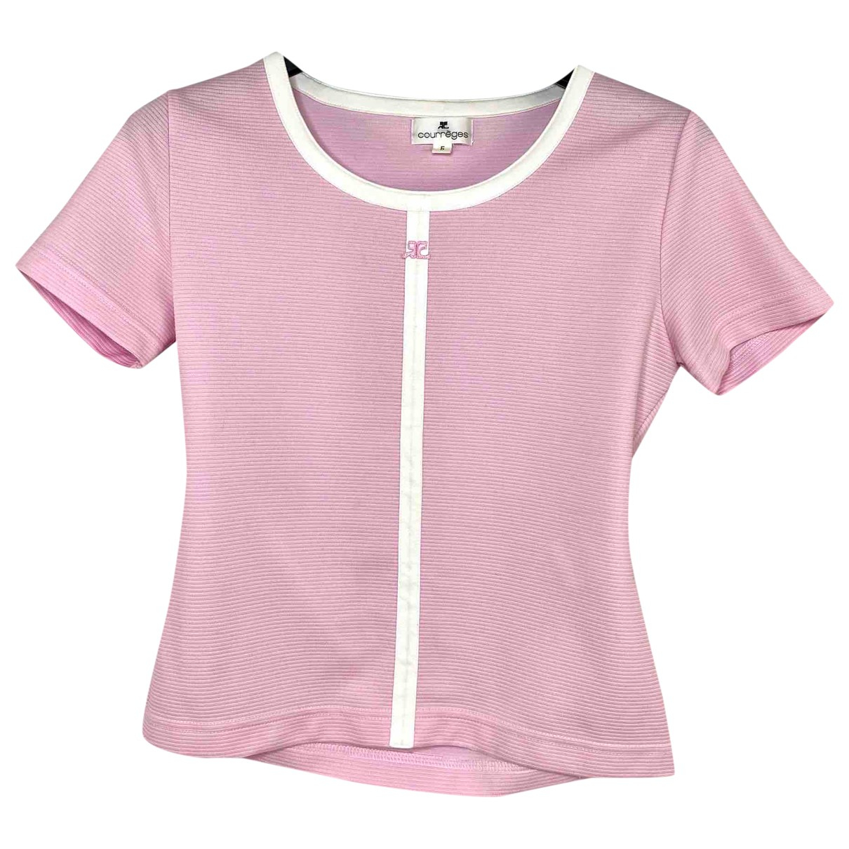 Courrèges \N Pink  top for Women 34 FR