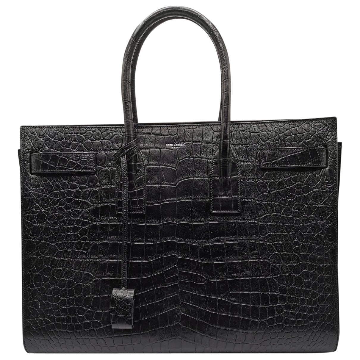 Saint Laurent Sac de Jour Black Leather handbag for Women \N