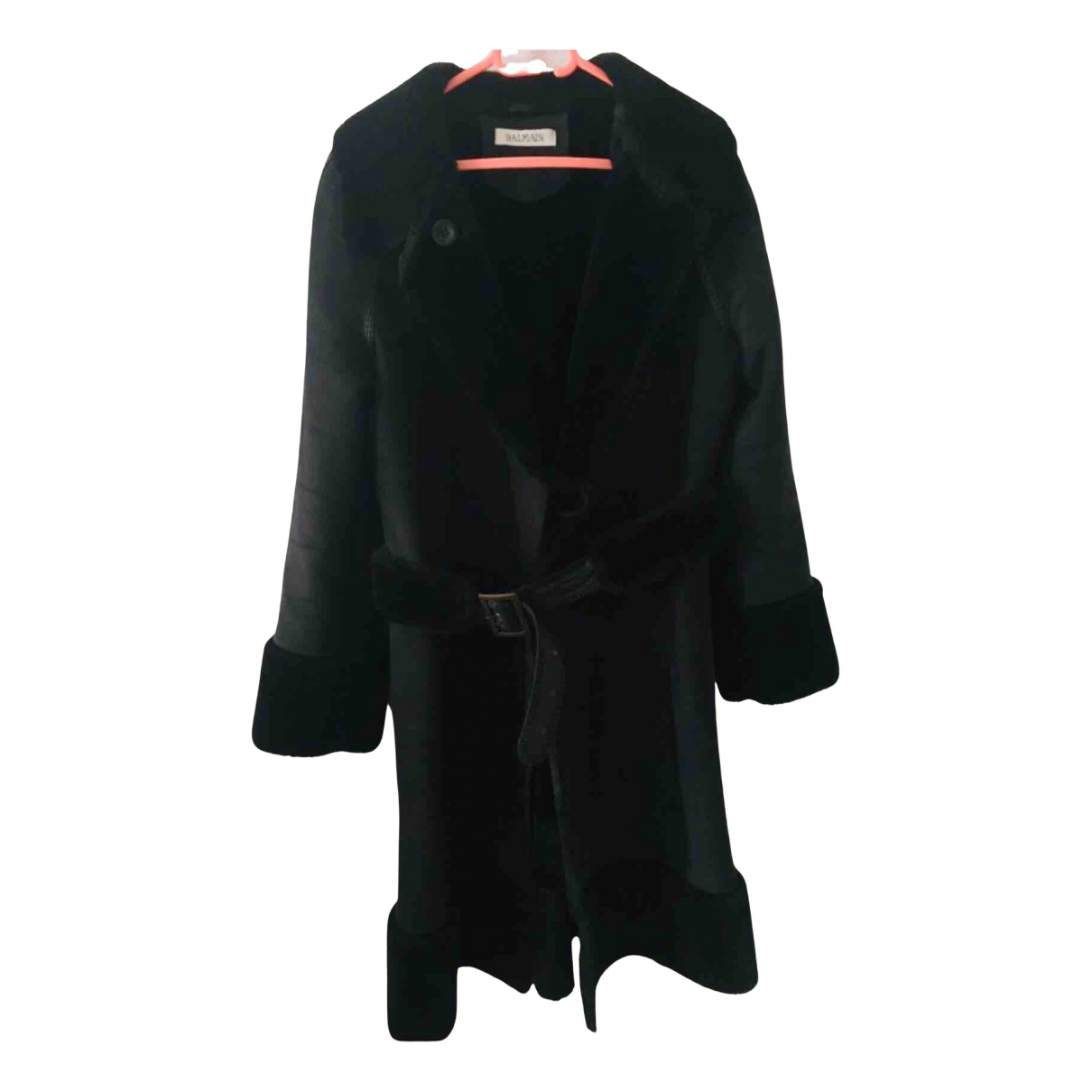Balmain N Black coat for Women 40 FR