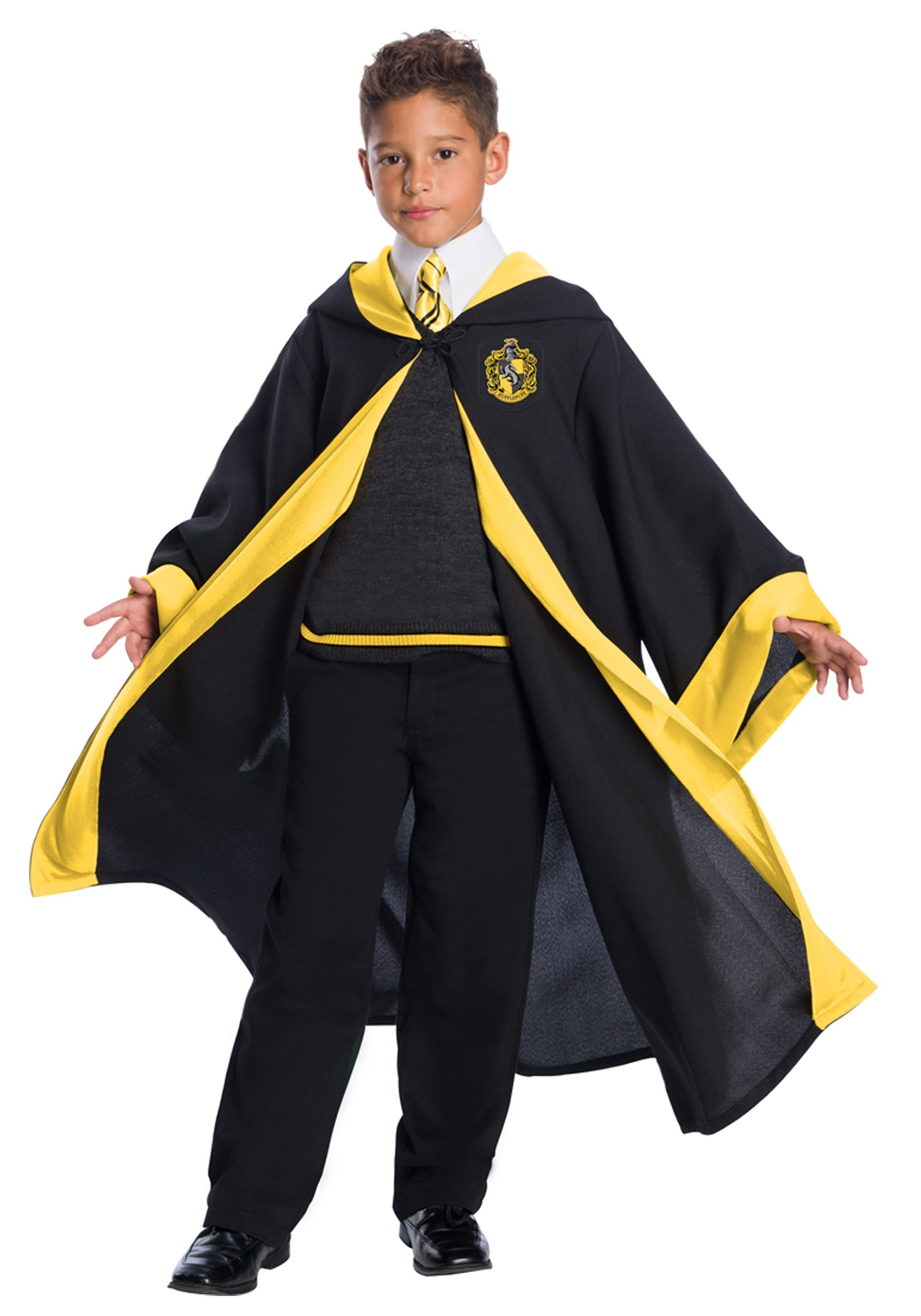 Deluxe Child Hufflepuff Student Costume