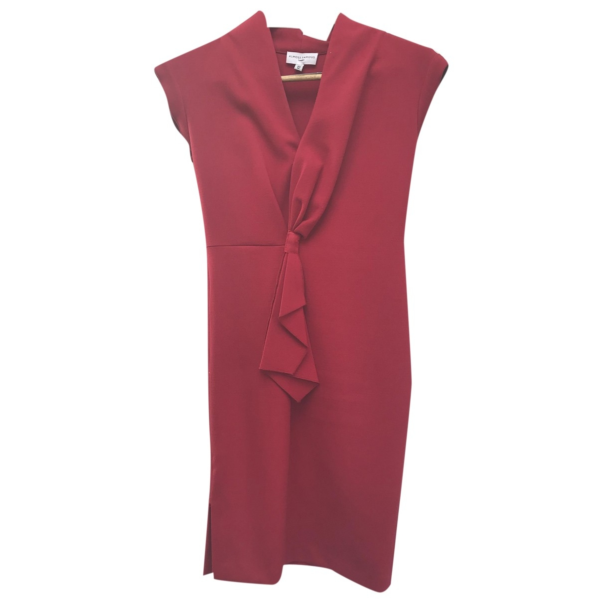 Non Signé / Unsigned \N Red Cotton dress for Women 12 UK