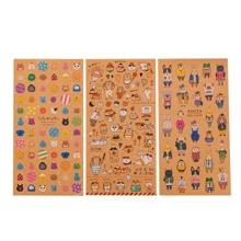 2sheets Cartoon Sticker