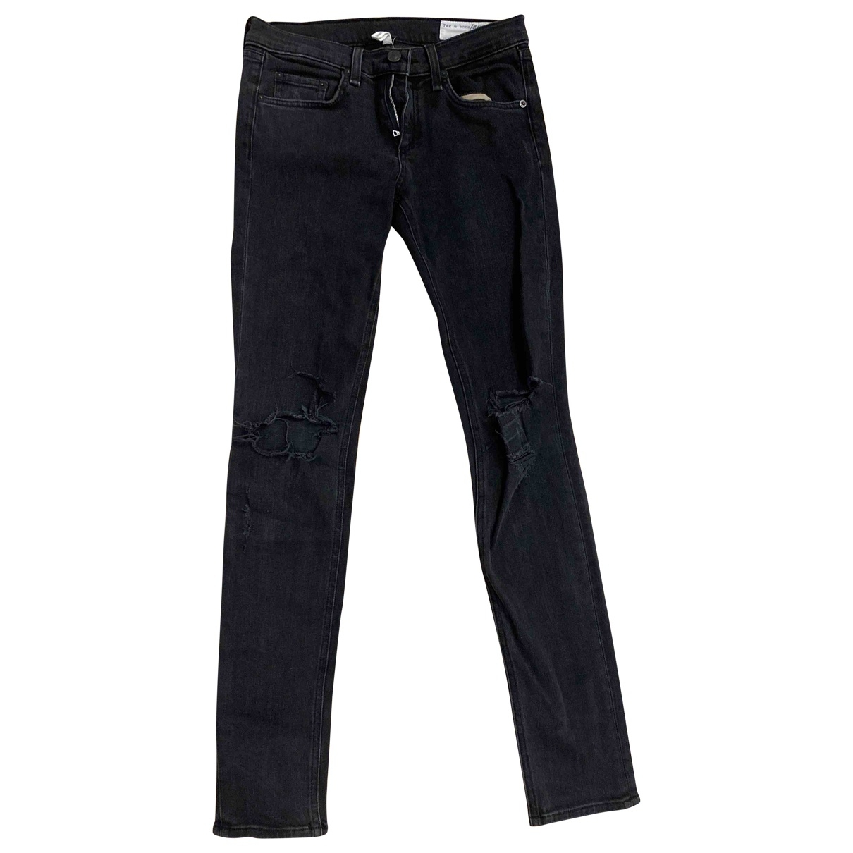 Rag & Bone \N Grey Denim - Jeans Jeans for Women 26 US