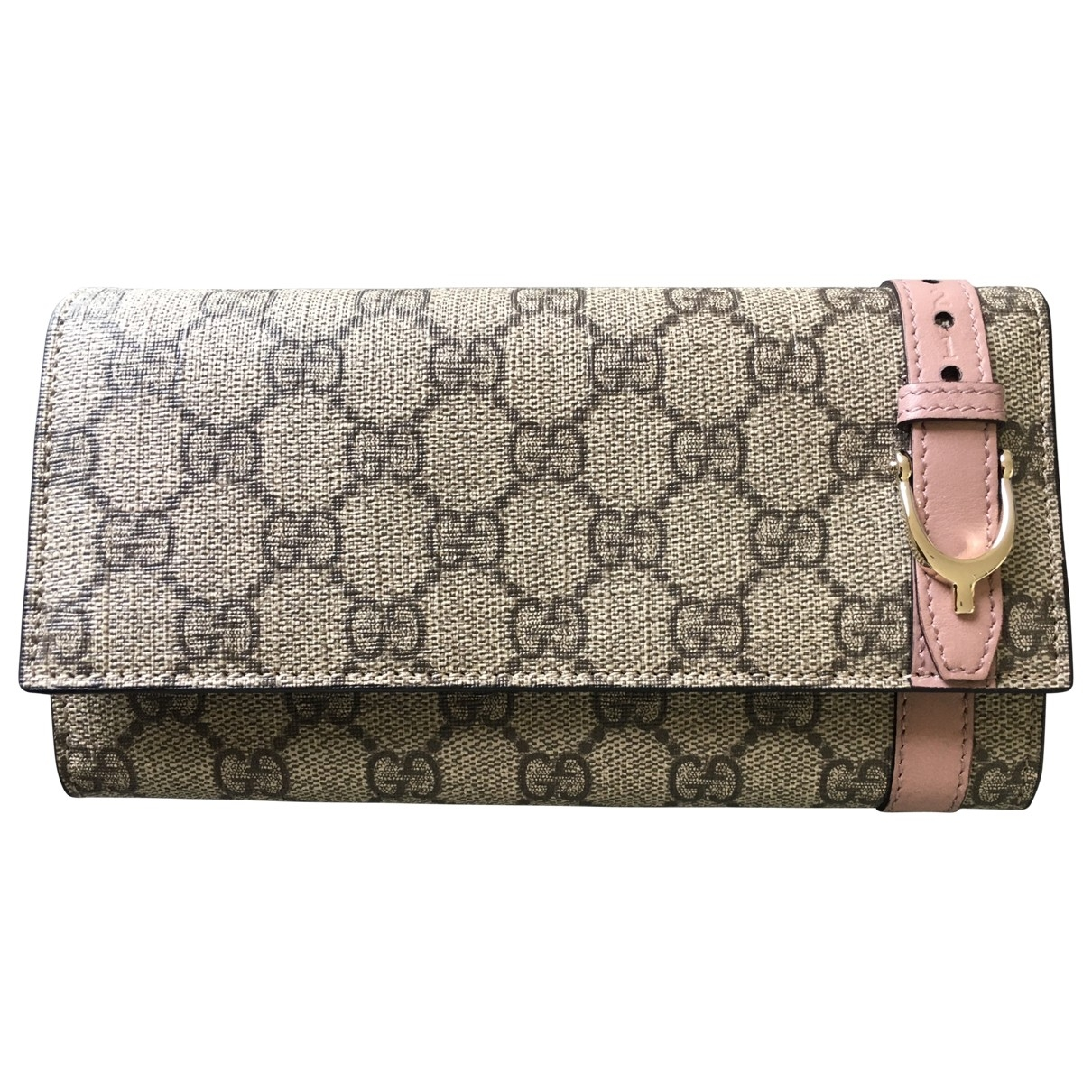Gucci \N Grey Cloth wallet for Women \N