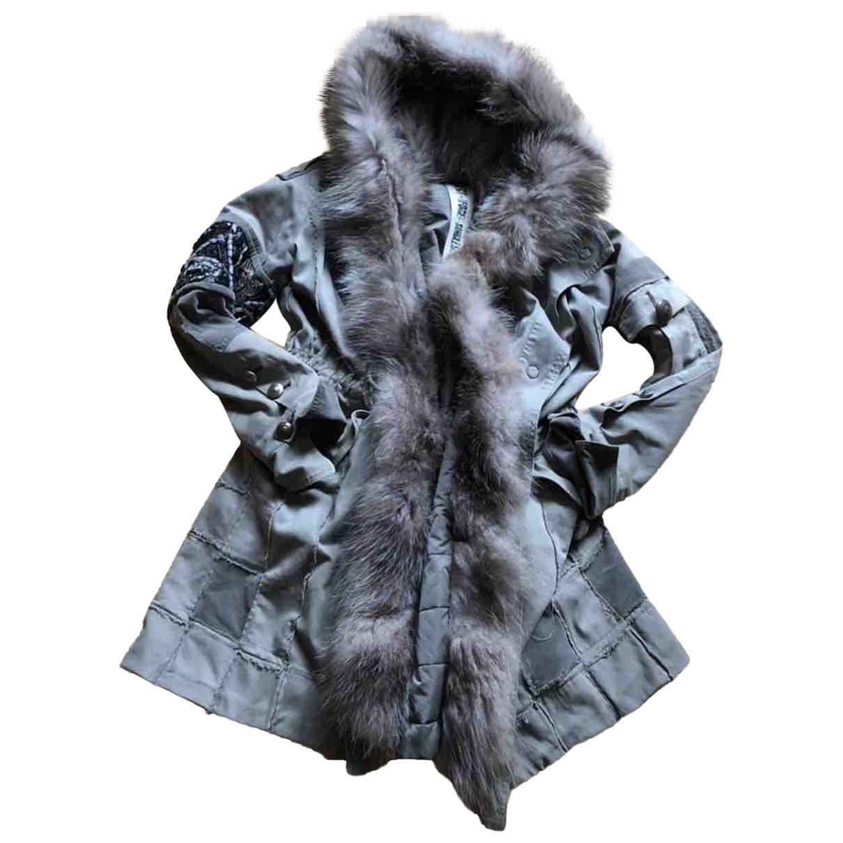 Project Foce \N Khaki Cotton coat for Women 42 IT