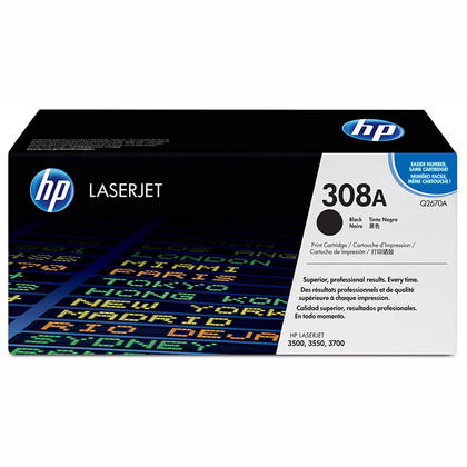 HP Q2670A Original Black Toner Cartridge