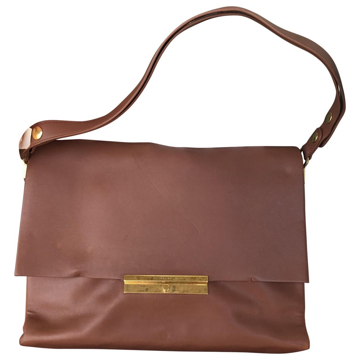 Celine Blade Camel Leather handbag for Women \N