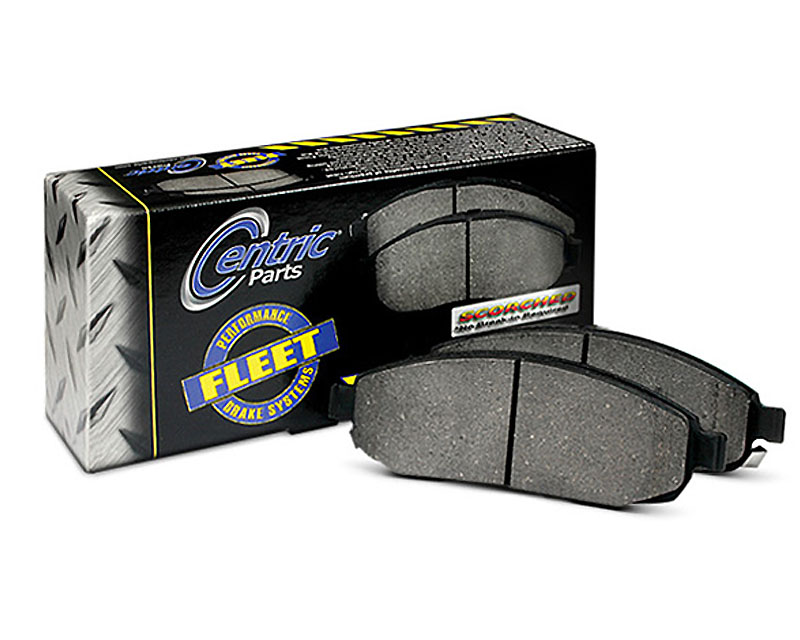 Centric Fleet Performance Pads with Hardware Rear Dodge Magnum 2008