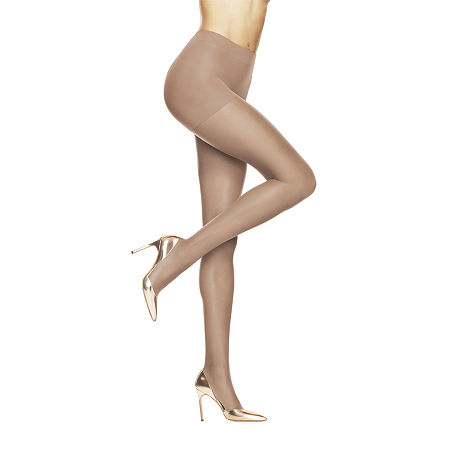 Hanes Absolutely Ultra-Sheer Control-Top Pantyhose, E , Beige