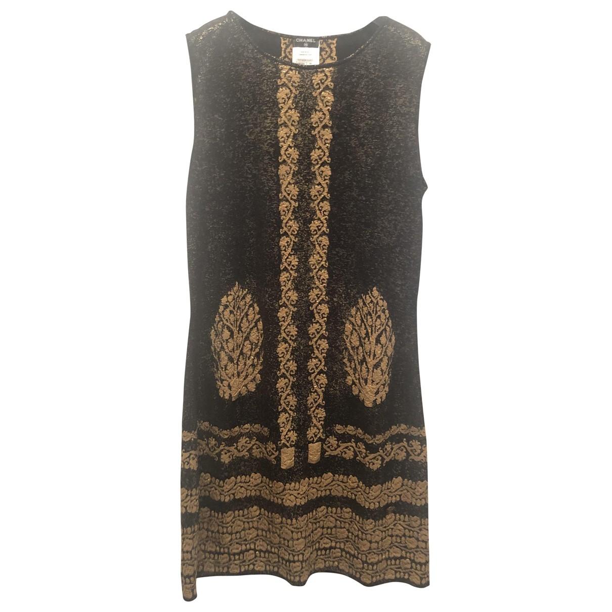 Chanel \N Black Cotton dress for Women 40 FR